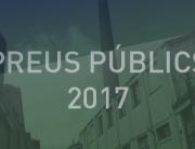 Preus públics 2017