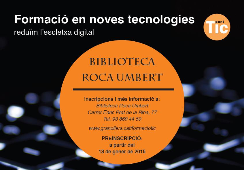 Formacio TIC 20151rS