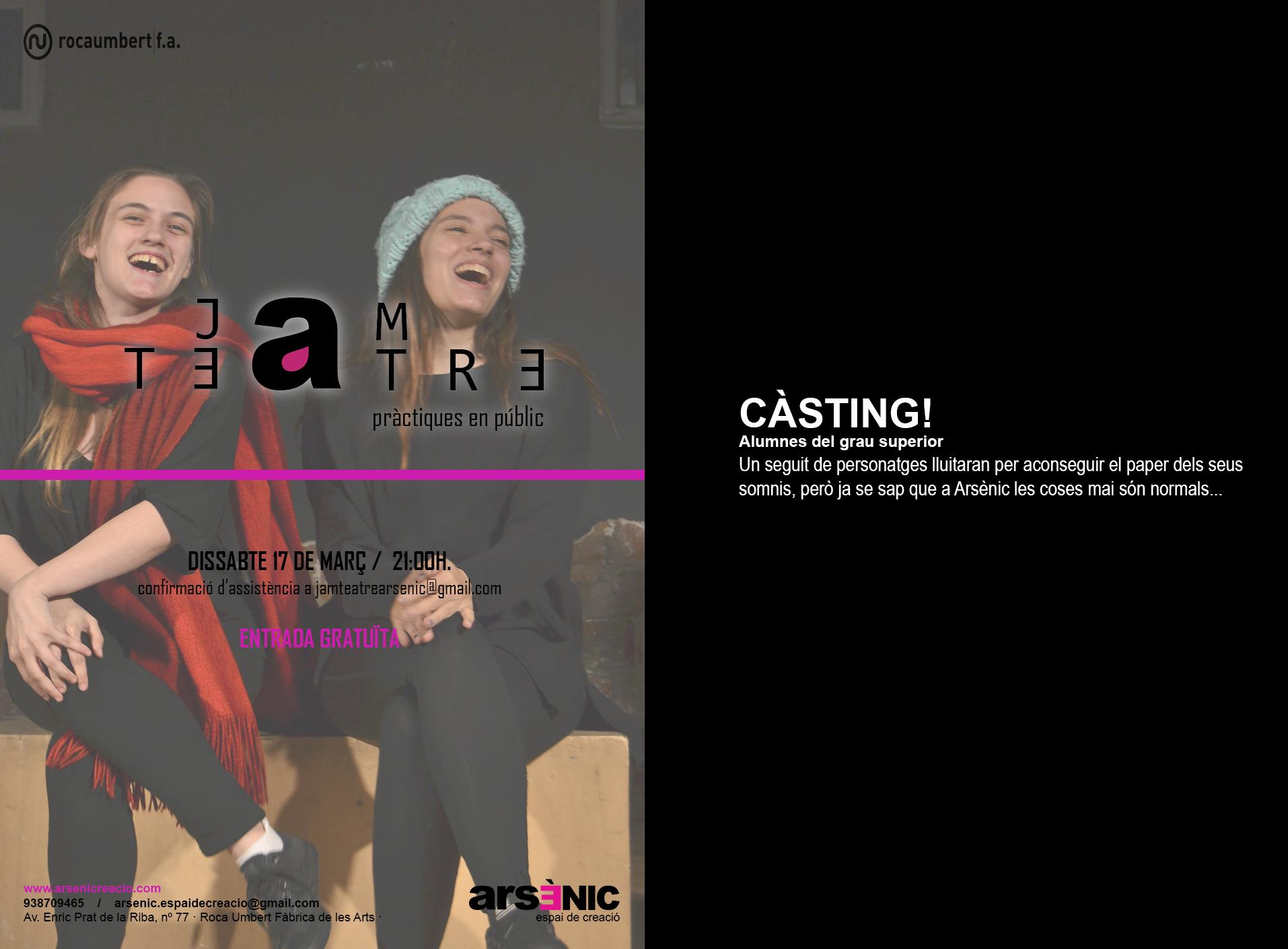 jam de teatre casting