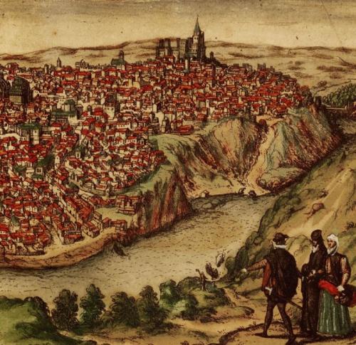 El fil de la historia_segle XVI_vista toledo grbado33_G.Hoefnage