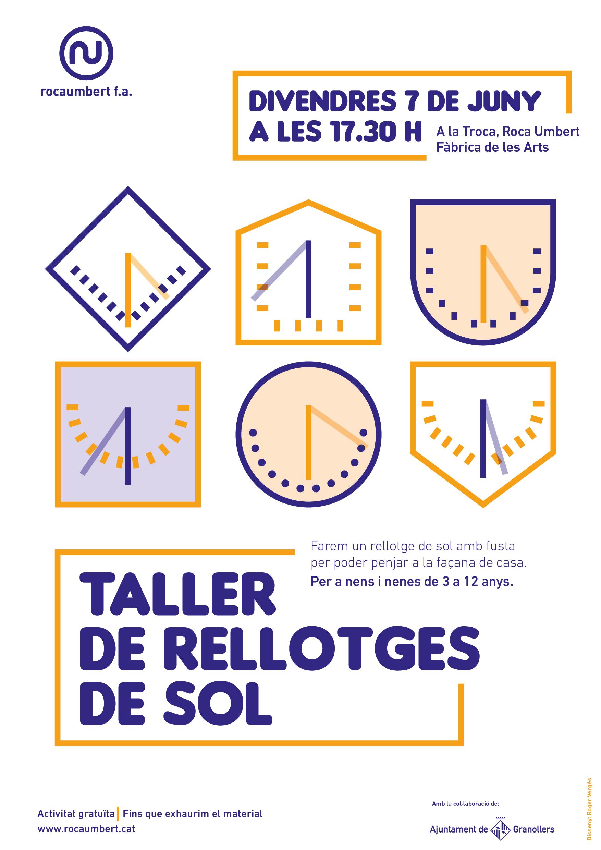 taller de rellotges de sol