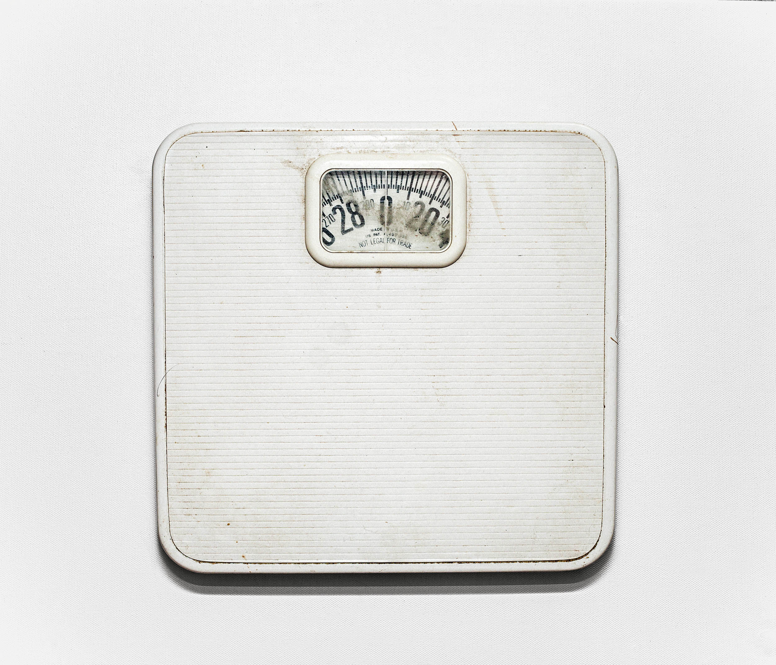 """""""She start losing weight before collage, we all thought was a positive thing, nobody actually knew what was really going on"""" – Tommy, Cammy's brother. In the picture a still-life photograph of Cammy's scale at her parent's house. Chattanooga, Tennessee, 2013.  Note: the background of this image has being altered with photoshop.  This is the story of the Robinson family – and the aftermath suffered in losing their 26 year old daughter to bulimia. Working closely with the family Laia Abril reconstructs Cammy's life telling her story through flashbacks – memories, testimonies, objects, letters, places and images. The Epilogue gives voice to the suffering of the family, the indirect victims of 'eating disorders', the unwilling eyewitnesses of a very painful degeneration. Laia Abril shows us the dilemmas and struggles confronted by many young girls; the problems families face in dealing with guilt and the grieving process; the frustration of close friends and the dark ghosts of this deadliest of illnesses; all blended together in the bittersweet act of remembering a loved one."""